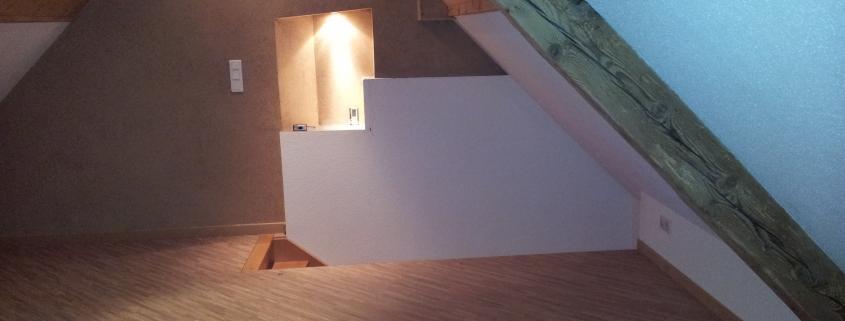 Rénovation maison orbey aménagement combles