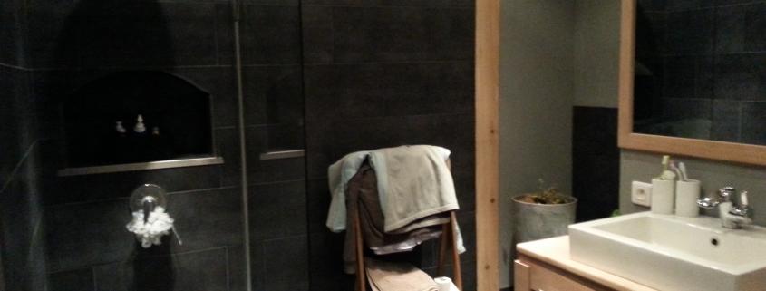 Rénovation maison orbey salle d'eau