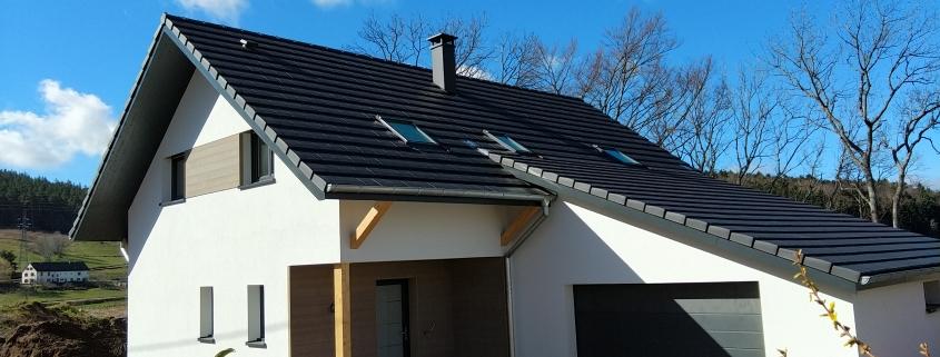 Construction maison ossature bois dans le Haut Rhin