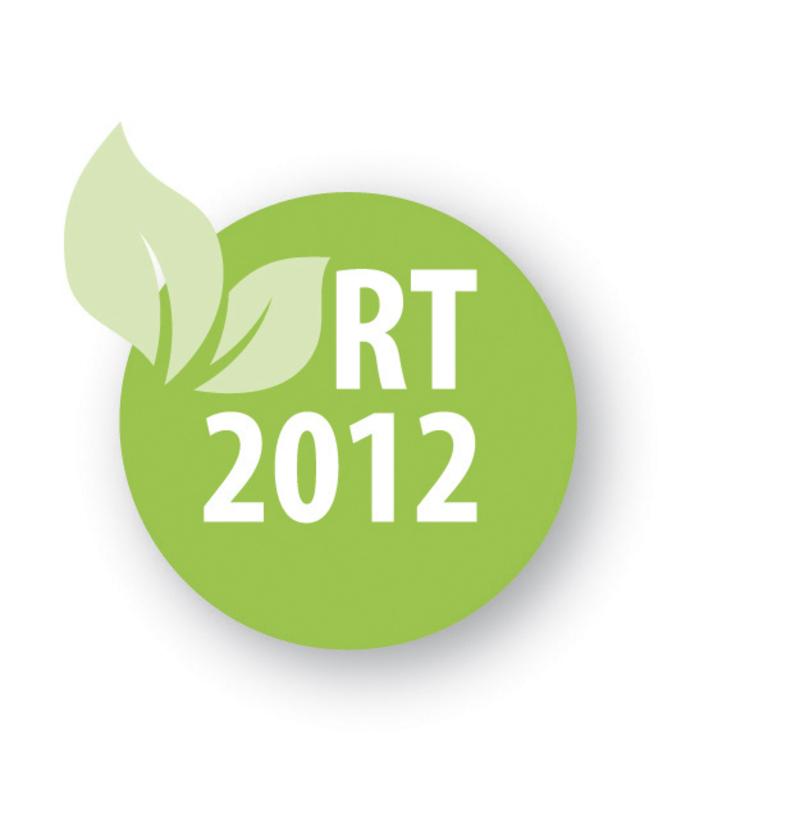 Logo RT 2012 reglementation thermique