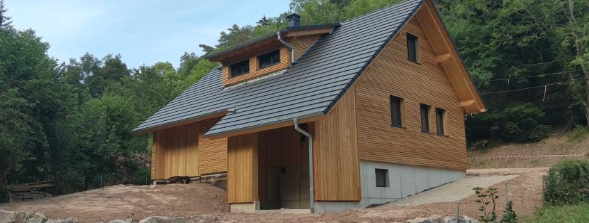 Constructeur maison ossature bois, chalet dans le haut-rhin, alsace